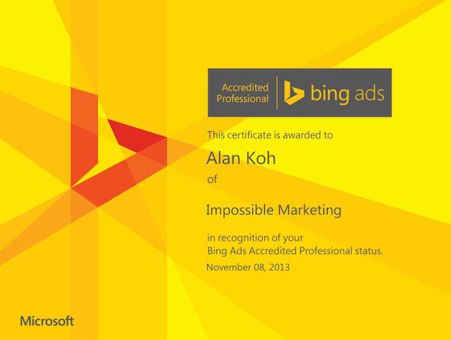 Yahoo/Bing
