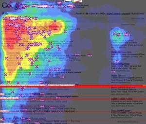 Google heatmap for SEM and SEO