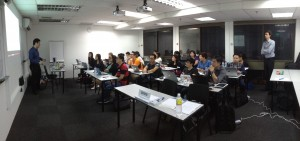 Another full house event: Hands-on online business seminar