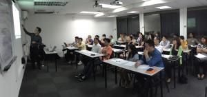 Our seminar is full house again!