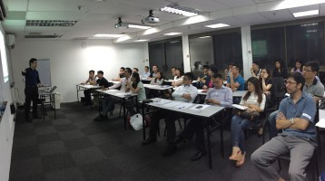 SEO Certification Course Preview – Full House!