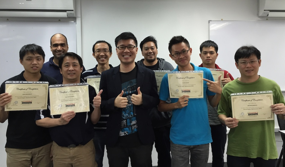 March weekend SEO students
