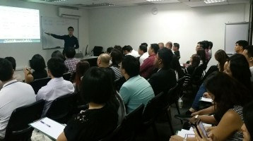 Another full house event at Impossible Marketing training centre!