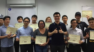 September SEO certification course graduate students