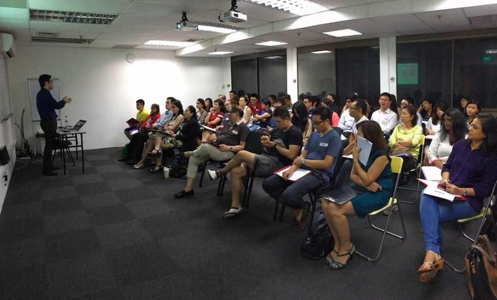 Internet Marketing Course Full House Event