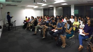 Our Internet Marketing preview is full house again