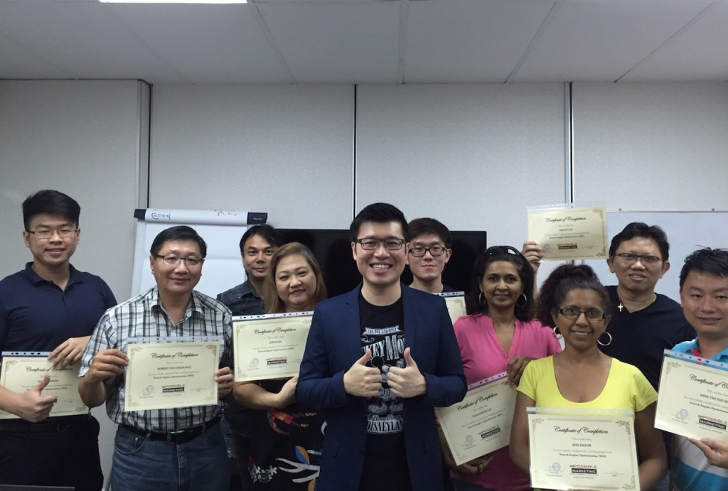 October 2015 SEO graduate students