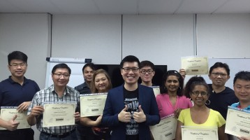 October 2015 SEO certification course graduate students
