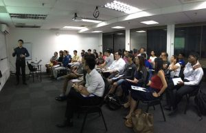 Our full house seminar in April (and yes, we need a bigger training room)