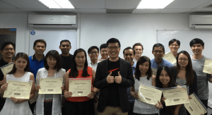 March 2016 SEO course graduate students