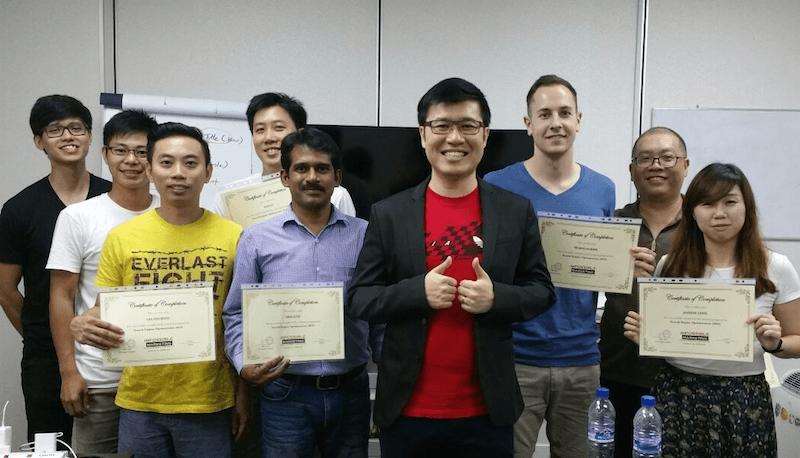 March 2016 SEO students private class 2