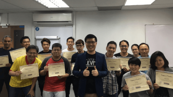 April 2016 SEO hands-on training course graduate students