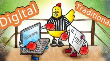 Differences between traditional and digital marketing
