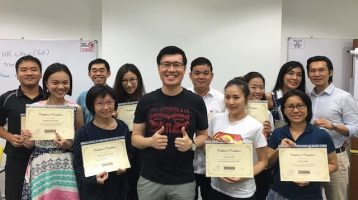 May 2016 hands-on SEO training course graduate students