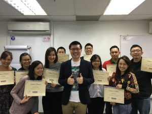 July 2016 SEO certification course graduate students