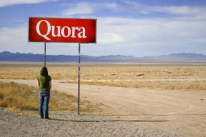 Answering Quora questions to drive traffic to your website