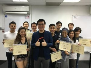 August 2016 SEO course graduate students