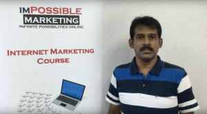 Srikanth's website has 28 keywords ranked on the 1st page of Google search