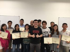 October 2016 SEO course graduate students