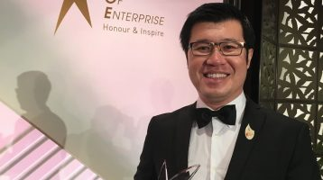 Alan Koh, honouree of Spirit Of Enterprise (SOE) award 2016!