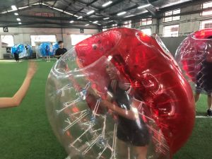September Team Bonding: Bubble bump time!