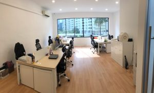 Impossible Marketing's new office at Yan Kit Road (Tanjong Pagar)