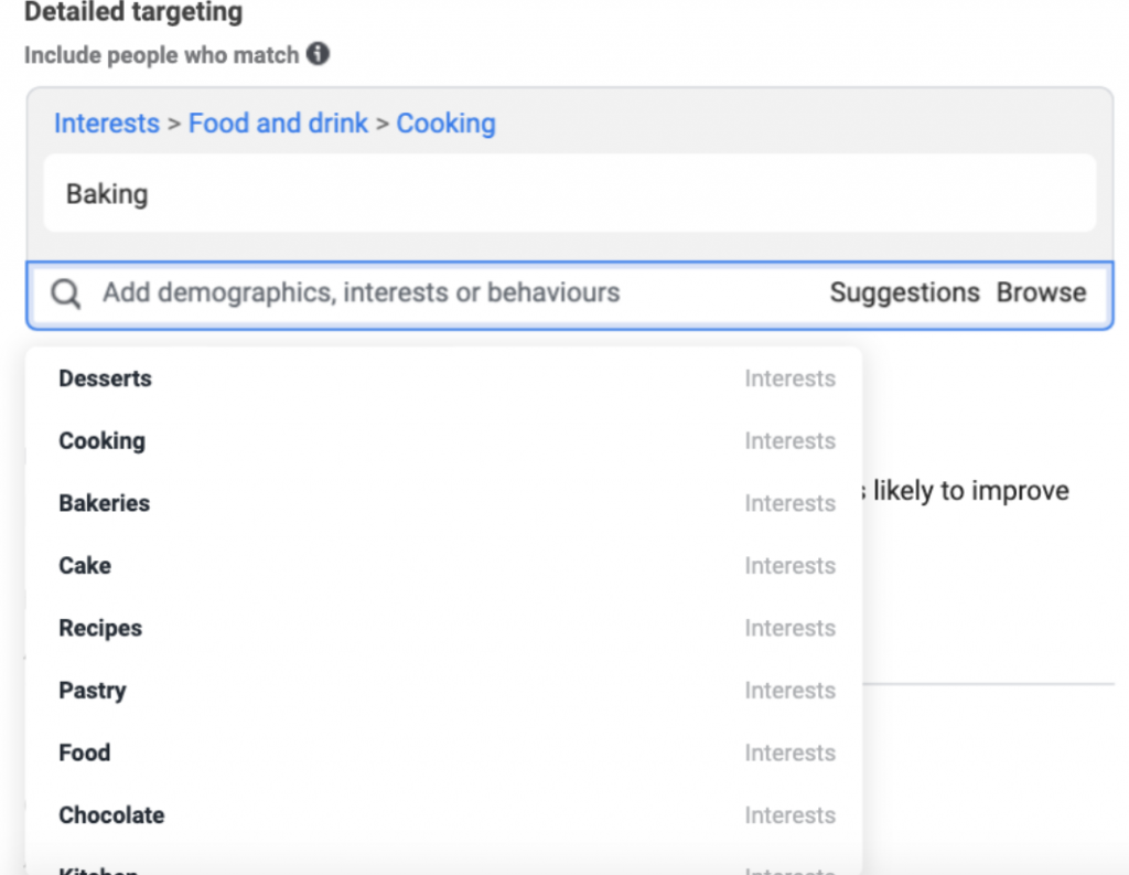 Best practices for detailed targeting