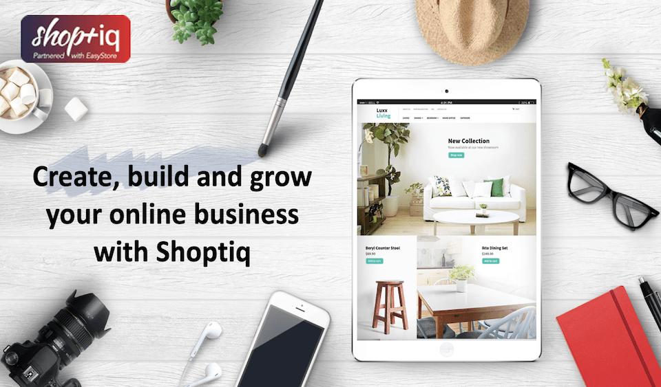 Shoptiq Website For Business