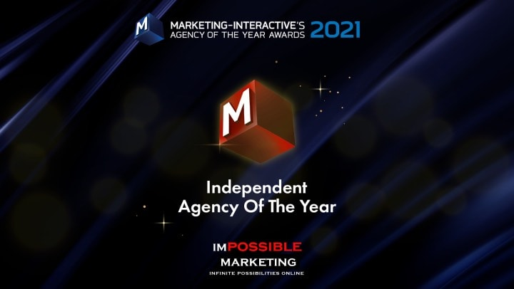 We Won The Local Hero Award For Independent Agency Of The Year 2021!